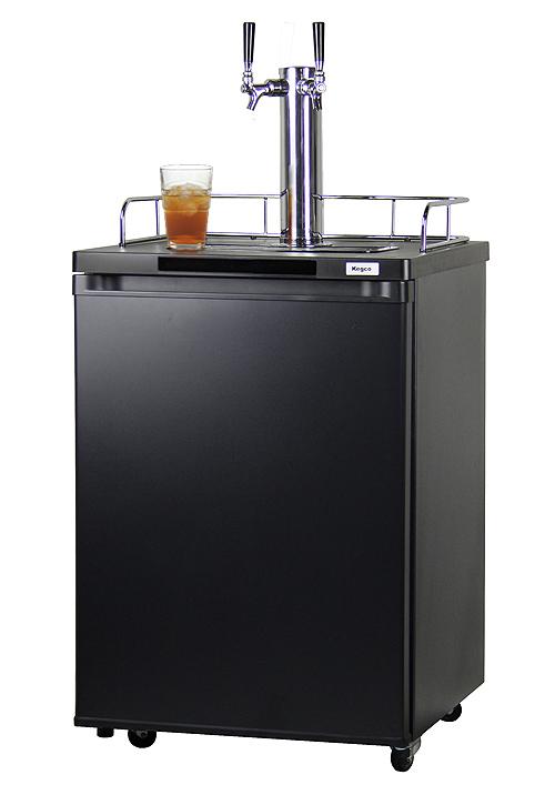 Kegco Kom20b 2nk Dual Faucet Kombucha Keg Coolers