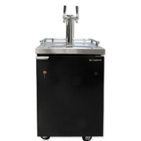 UBC KegMaster Commercial Dual Faucet Two Product Kegerator