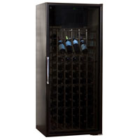 Le Cache Loft 1400 172-Bottle Wine Cabinet - Black Matte