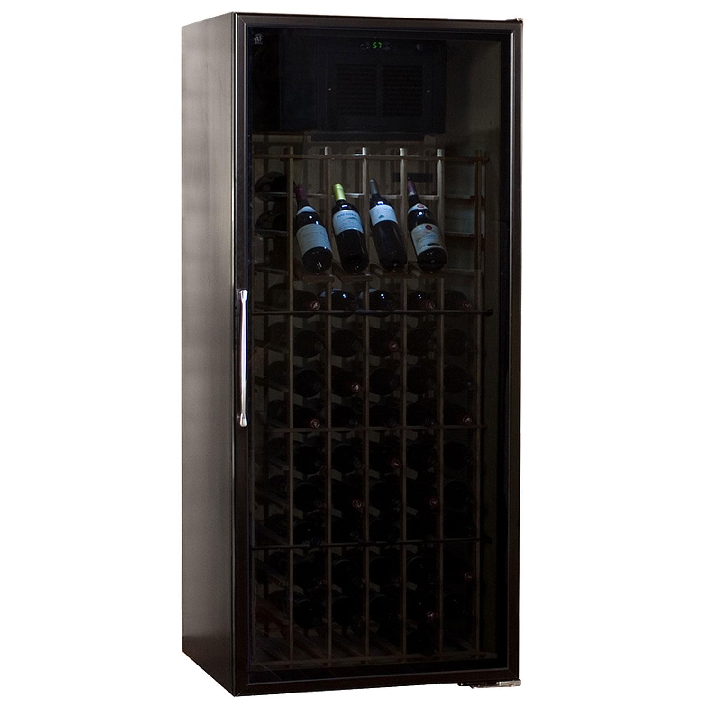 black wine cabinet. Le Cache Loft 1400 Wine Cellar Black Cabinet