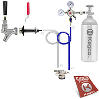 Kegco Low Profile Door Mount Kegerator Conversion Kit