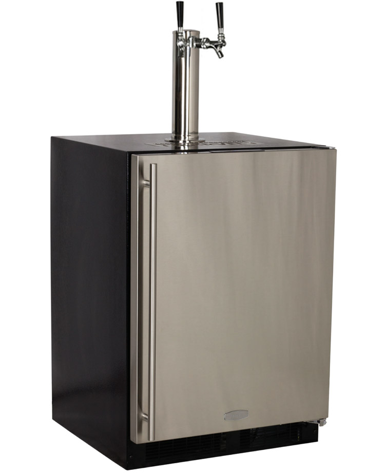 Marvel Ml24bns1rs X2d Kegerator Undercounter With X