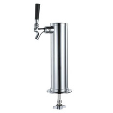 One Faucet Kegerator Tower