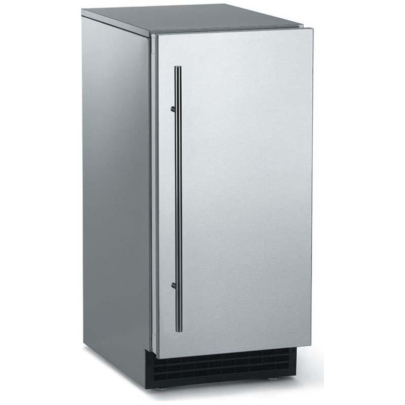 Outdoor Ice Maker 65 Lbs. Gravity Drain   Stainless Steel Cabinet And Door
