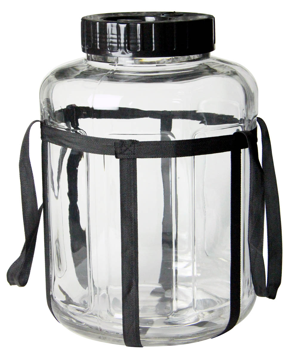 Kegco 7 Gallon Wide Mouth Glass Jar Carboy 23 Liter