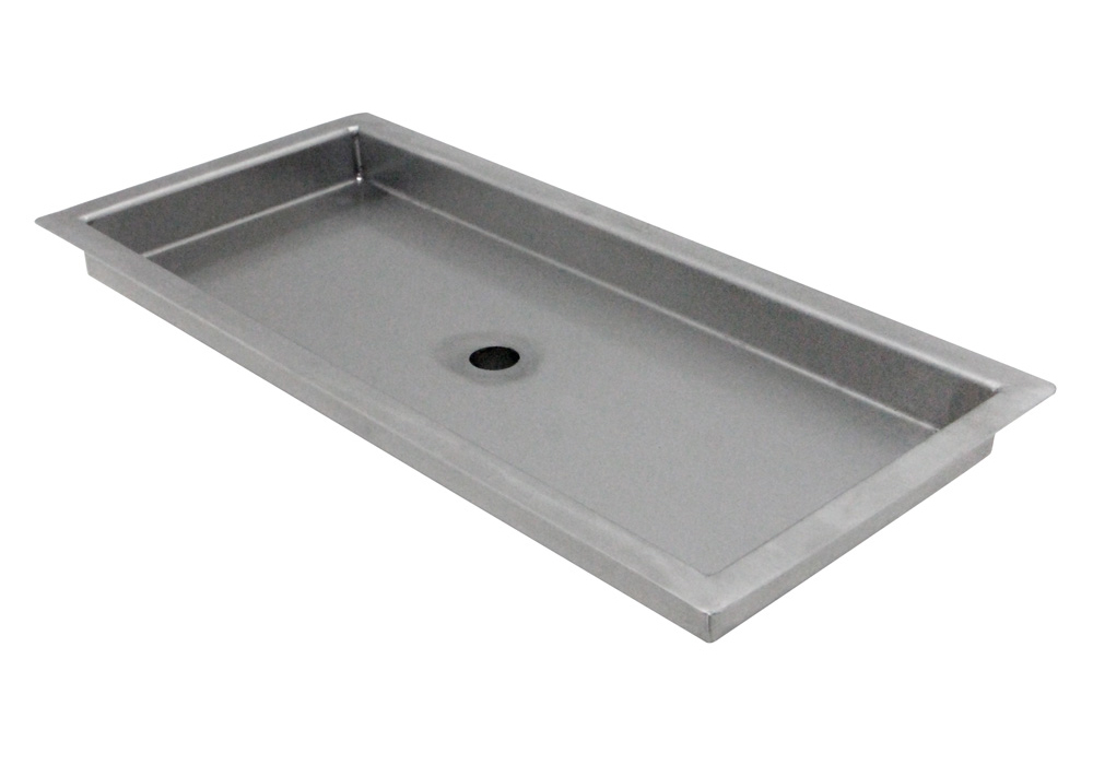 Kegco Sedp 220d Stainless Steel Flush Mount Drip Tray W