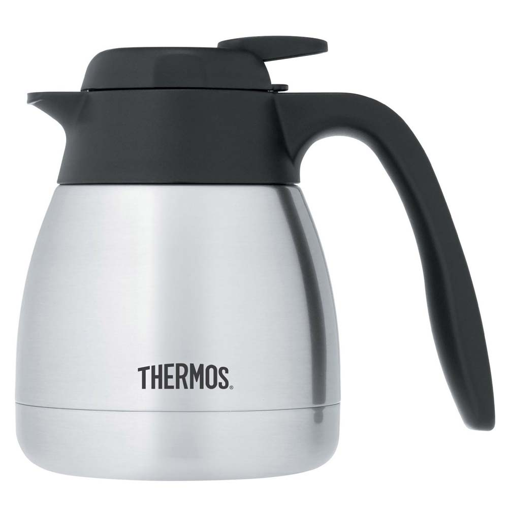 thermos tgs600ss4 stainless steel carafe 20 oz beveragefactory com