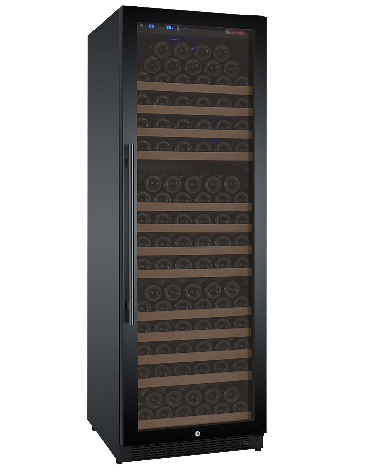 Allavino Wine Refrigerator Single Zone Vswr177 1bwrn Flexcount Series 177 Bottle Black Door Right Hinge Beveragefactory Com