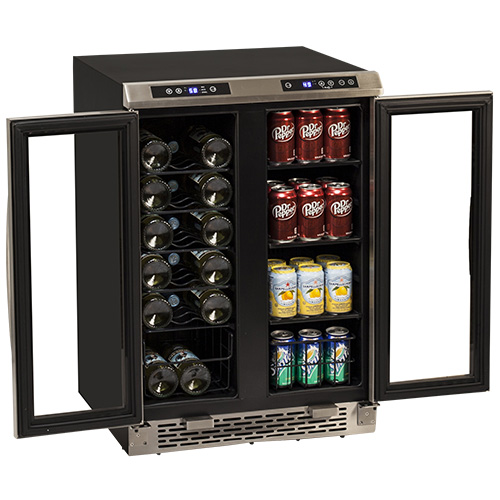Avanti Wbv19dz Side By Side Dual Zone Wine And Beverage
