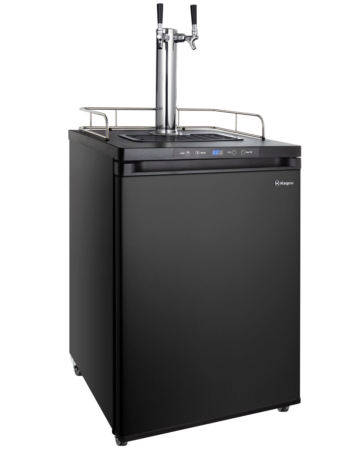 Super Beer Tower Cooler//Kegerator Fan w Tap Cover//Beer Line Cleaning Attachment
