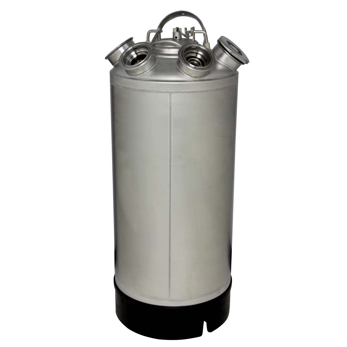 Kegco Draft Beer Keg Tap Stainless Steel Cleaning Can ...