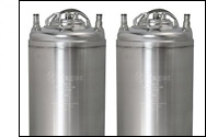 New 5 Gallon Ball Lock Homebrew Kegs