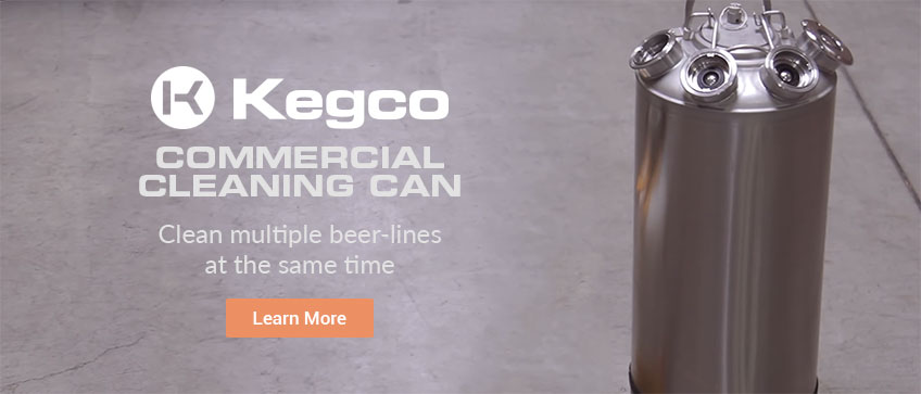 Kegco Commercial Cleaning Cab