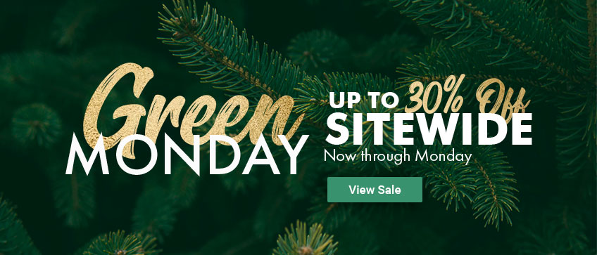 Green Monday | 30% off Sitewide!