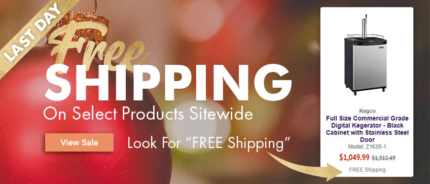 Free Shipping Sitewide on Select Products