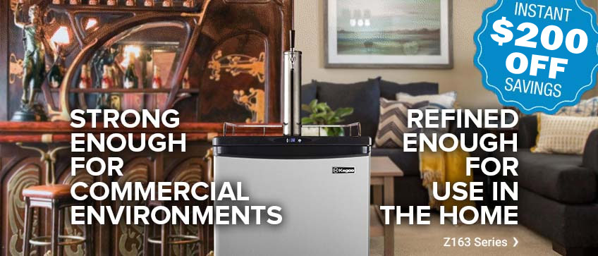 $200 Off Kegco Commercial/Residential Kegerators