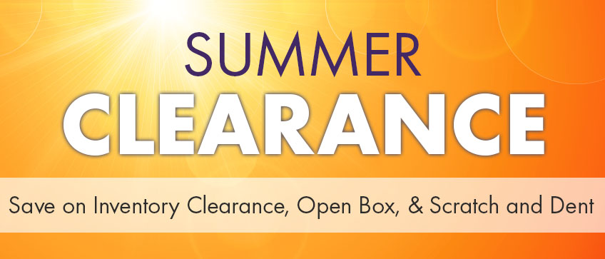 CLEARANCE OUTLET - NEW REDUCTIONS - OVER 50% OFF SELECT ITEMS