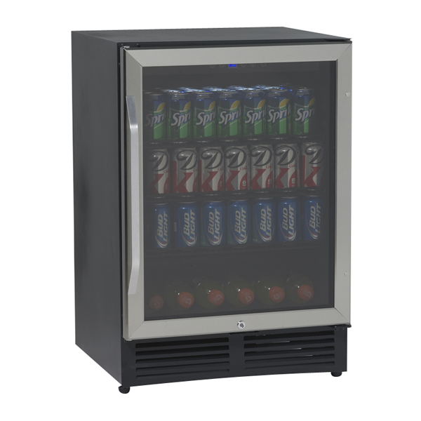 Avanti Bca516ss 50 Cf Beverage Cooler Center Refrigerator With