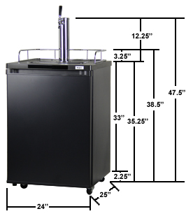 Kegco K209B-1