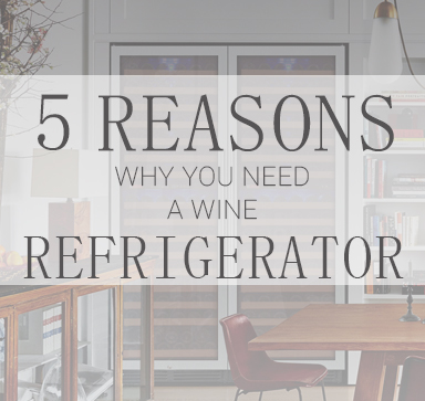 5 Reasons Why You Should Get A Wine Refrigerator