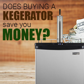 Kegerator Economics - Does buying a kegerator save you money?