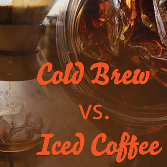 What Is The Difference Between Cold Brew Coffee and Iced Coffee?