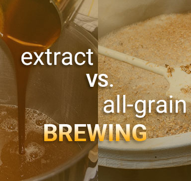 Beer Brewing Basics - Extract Brewing VS. All-Grain Brewing