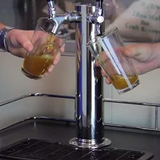 Flow Rate With Beer Line