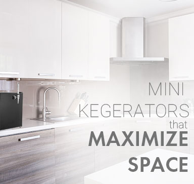 Mini Kegerators That Maximize Space