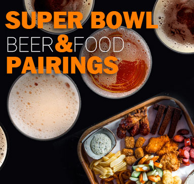 Super Beer & Food Pairings For The Super Bowl