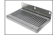 Door Mount Stainless Steel Drip Tray