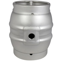 Brand New 10.8 Gallon Firkin Beer Keg Cask