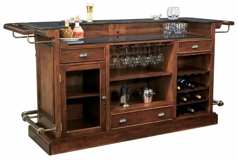 Howard Miller 693 027 Cheers Home Bar Beveragefactory Com