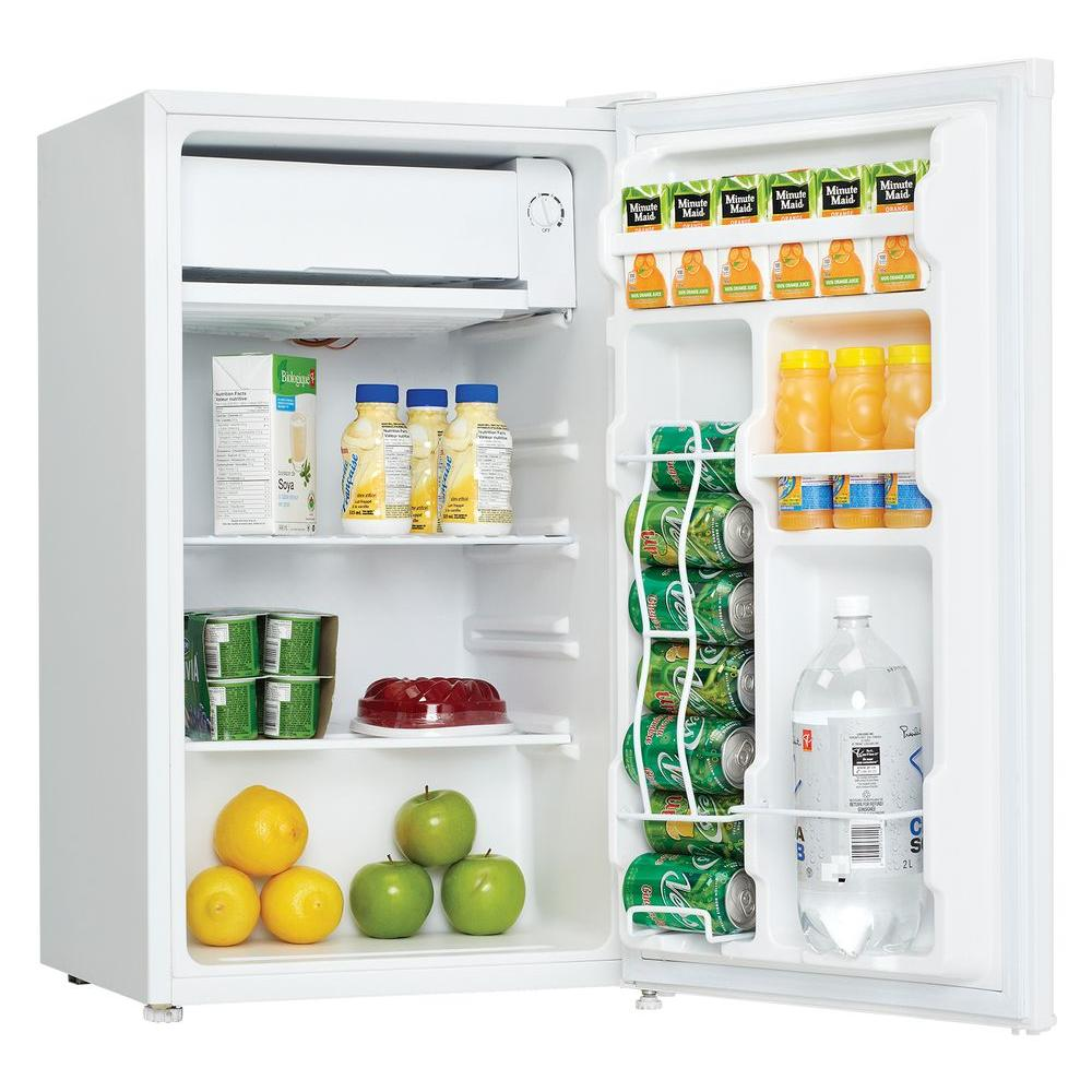 Danby Dcr032c1wdb 3 2 Cu Ft Compact Refrigerator White