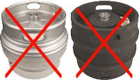 Does Not Fit These Kegs.