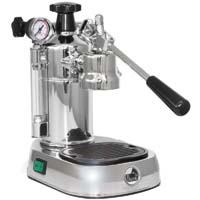 Professional Espresso Maker - Chrome Base