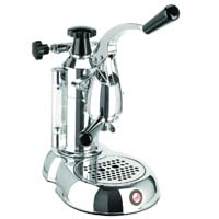 Stradivari Espresso Maker - Black & Chrome