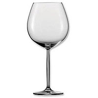 Diva Claret Burgundy Wine Glass - Set of 6