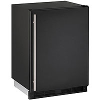 1000 Series 5.2 cf Refrigerator - Black Cabinet with Black Door