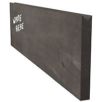 Chalkboard Menu Wall Board Plank - Black