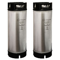 Coffee Kegs - Ball Lock 5 Gallon Rubber Top - Brand New - Set of 2