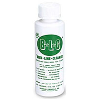 Bottle of Keg Beer Line Cleaning Solutions for Draft Systems - 4oz. Bottle
