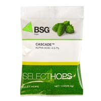 Cascade US Hop Pellets - 1oz Bag