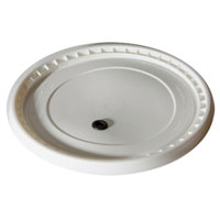 2 Gallon Bucket Lid Only - Drilled & Grommeted