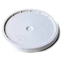 7.8 Gallon Bucket Lid Only - Solid