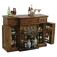 Shiraz Hide-A-Bar Wine Console
