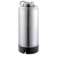 18 Liter Keg Beer Cleaning Can with Single Valve Port