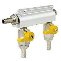Aluminum Two-Way Air Distributor