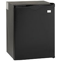 2.2 Cu. Ft. Auto Defrost Built-in All Refrigerator - Black
