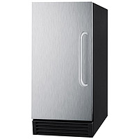50 lbs. Built-in Ice Maker - Stainless Steel Door